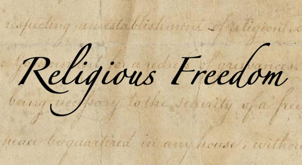 freedom of religion Religious freedom, or freedom of conscience, is critical to the health of a diverse society it allows different faiths and beliefs to flourish religious freedom protects the rights of all groups and individuals, including the most vulnerable, whether religious or not.