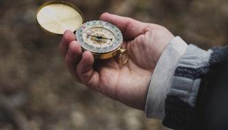 course correction compass